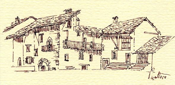 Valle maira intervista a pier paolo pastore for Disegni di case in stucco